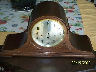 VTG Seth Thomas case for 113 movement with bezels and 5 rod chime bar.
