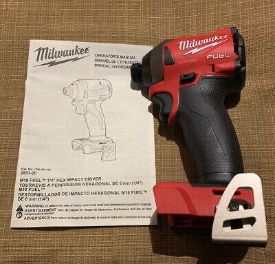 "2853-20 Milwaukee M18 Fuel 1/4"" Hex Impact Driver (Tool Only)"
