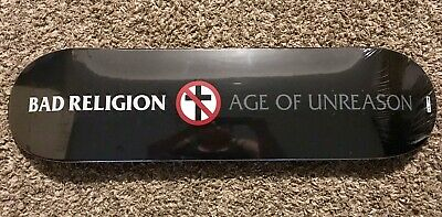 """Bad Religion Limited Edition 8"""" Skate Deck - Age Of Unreason #28 Of 100"""