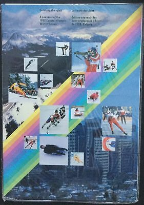 Winter Olympics Catching the Spirit - 1988 Canada Post Thematic Collection #38