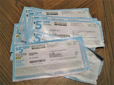 65 Coupons -- Bed Bath & Beyond Coupons %20 Off - $10.00 Off  - $5.00 Off