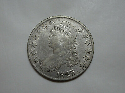 1825 Capped Bust Silver Half 50C - You Grade It (#Ex9w)