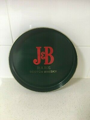 J&B Rare scotch whisky collectables plastic tray