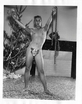 AMG Vintage Single Weight  Male Nude 4x5  Flat Collection Xmas in July