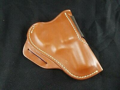 LEATHER CROSS DRAW holster for Smith & Wesson J-Frame