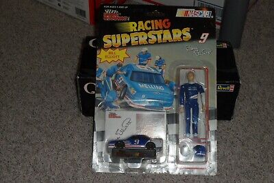 1991 Racing Champions NASCAR Racing Superstars #9 Bill Elliott, Race Car & Stand
