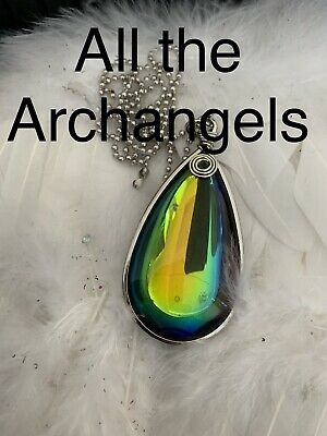 Code 535 Magic Necklace All the Archangels Charged N Infused Reiki Pagan New Age