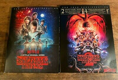 Stranger Things Complete Season 1 & 2 (7 DVD lot) Netflix FYC promo