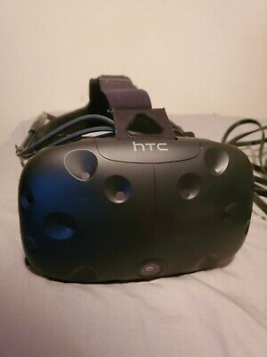 HTC Vive Virtual Reality Headset (Deluxe Audio Strap + VRCover 6mm Foam)