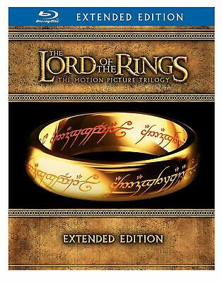 The Lord of the Rings The Motion Picture Trilogy Extended Edition 15Disc Blu-ray