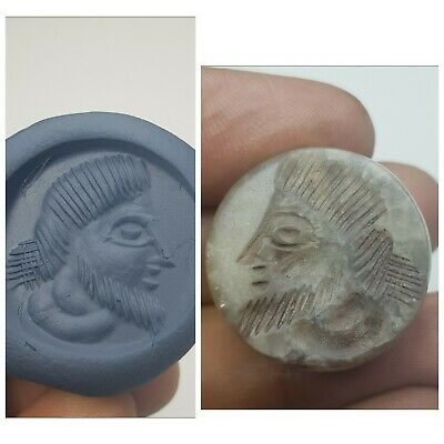 Very old intaglio seal  wonderful agate intaglio stamp