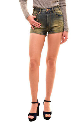 One Teaspoon Women's High Waist Harlets 2 Shorts Size 26 Labyrinth RRP$110 BCF81