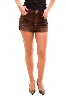 One Teaspoon Women's Authentic Lovers Shorts Size 26 Coco Cord RRP $110 BCF81