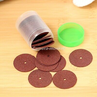 UK 36pcs 24mm Reinforced Cut Off Grinding Wheel Discs Grinder Power Rotary Tool