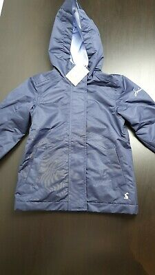 Joules Kids Navy Blue Raincoat 3 Years New With Tags