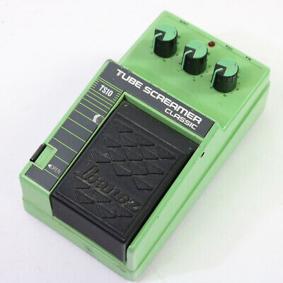 Ibanez Tube Screamer Classic TS10 Overdrive Guitar Effect Pedal Made in Taiwan
