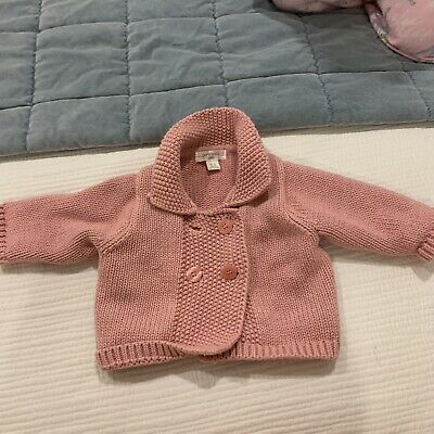 Pure Baby Girls Knit Jacket 000