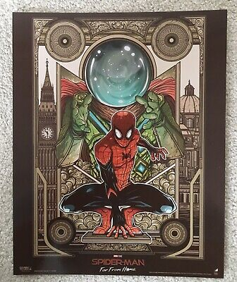 Marvel Spider-Man Far From Home ODEON Poster MYSTERIO Approx A4