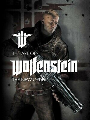 The Art of Wolfenstein: The New Order Hardcover | Like New