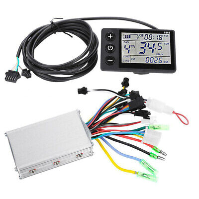 24/ 36/ 48V Bike LCD Display Panel Electric Bicycle Scooter Brushless Controller