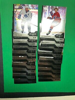 2013-14 UD Black Diamond Double And Triple Diamond Base Lot Of 18 Cards