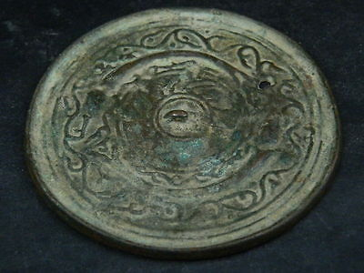 Ancient Bronze Mirror Roman 200 BC #BR2002