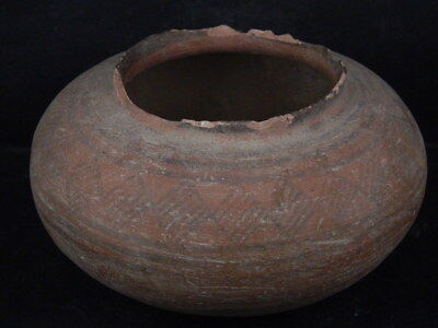 Ancient Large Size Teracotta Painted Pot Indus Valley 2500 BC #Ik515