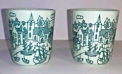 Nymolle Art Faience Demitasse Cup Hoyrup Mid Century Danish Limited Edition 4006