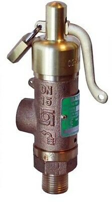 Boss, Bailey Birkett High Lift Safety Relief Valve, DN25, Water to 95C, Padlock