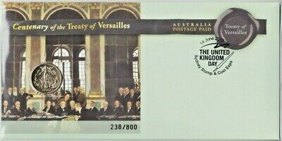 2019 Centenary Treaty of Versailles $1 Coin - PNC Sydney Expo Day 2 - 238 / 800