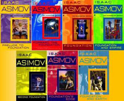 Isaac Asimov AudioBook Collection - FOUNDATION ROBOT EMPIRE GREEKS DANEEL OLIVAW