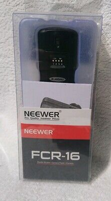 Neewer FCR-16,Wireless Hot Shoe Receiver, New, Sealed Box With Instructions