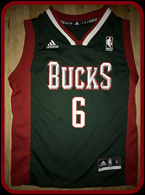 Milwaukee Bucks Vintage Andrew Bogut Adidas Jersey Youth Small Free Shipping