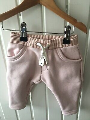 Baby Girl's Clothes 3-6 Months - Pink Pull On Soft Trousers River Island🐷🐷🐷