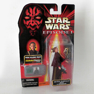 Star Wars Episode I: Queen Amidala Ascension Gun (1999) - 3.75 - Hasbro, Mosc