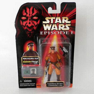 Star Wars Episode I: Naboo Royal Security (1999) - 3.75 Inches - Hasbro, Mosc