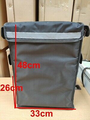 New  42L Rucksack bag bicycle backpack cycle pizza takeaway food delivery bag