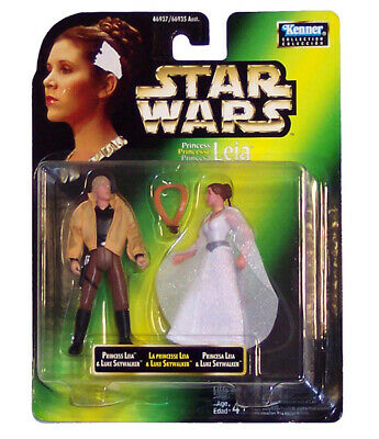 Star Wars Episode Iv - Luke Skywalker & Leia Organa (1997), 3.75, Hasbro, Mosc