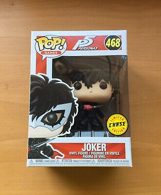Funko Pop Games 468 - Persona 5 - The Joker Chase - Free Shipping
