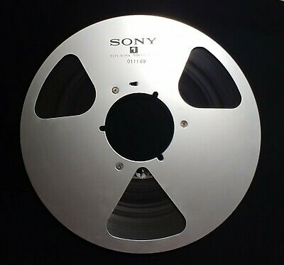 "Sony Metal Reel to Reel R-11A 10.5""  With 1/4"" Tape"