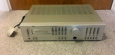 Jvc A-X4 Stereo Integrated Amplifier With Phono Stage. Mm/Mc