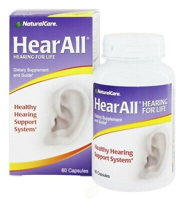 Naturalcare Products Inc HearAll 60 Capsule