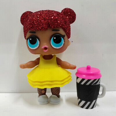 lol surprise doll Big Sister Glitter Red Hair Yellow Dress Kids Birthday Gift