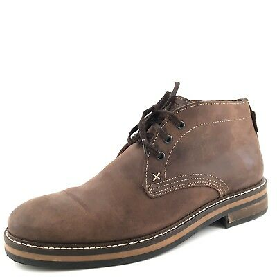 b08fc4dee13 WOLVERINE 1883 SIZE 7 M Black Brown Leather Chukka Ankle Boots Mens ...