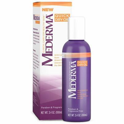 5 Pack Mederma Clinical Care Quick Dry Oil Combined With Cepalin, 5.1 Oz Each