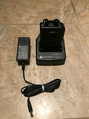 Motorola Minitor V 151-158.9975MHz VHF 2-Ch Pager w/ Charger A03KMS7239BC