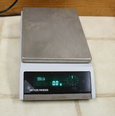 Mettler digital lab scale balance analytical PM6000 PM 6000 g 100 mg