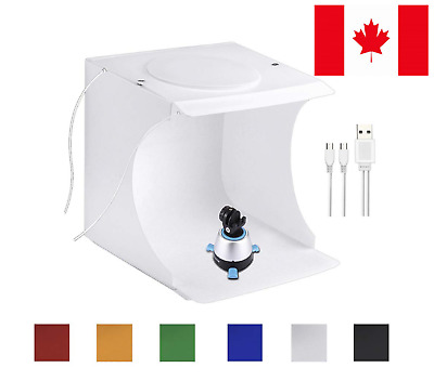 Portable Photo Studio Box for Small Items Portable Folding Photography Booth