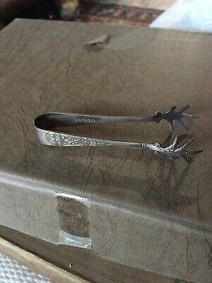 Antique Vintage EPRSS Sugar Snips With Claw Detail