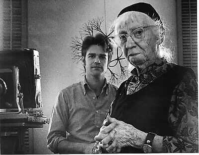 IMOGENE CUNNINGHAM 1973 8X10 SIGNED PHOTO LYLE TUTTLE TATTOO COLL. by ROBIN RYAN